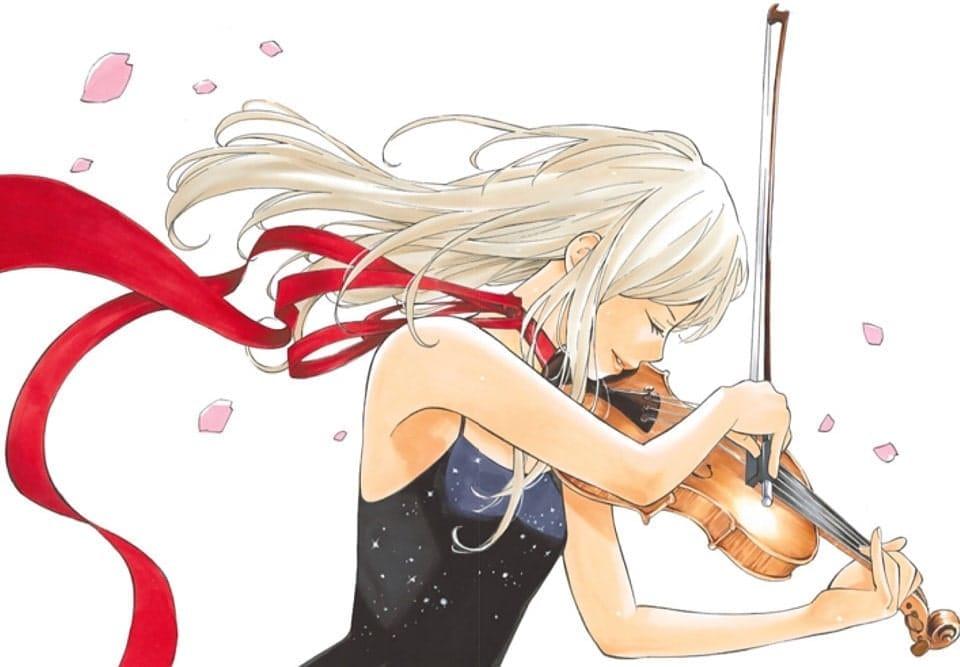 ヴァイオリンを弾く、宮園かをり